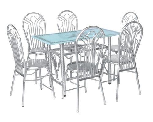 Bộ bàn ghế inox, bg-3023