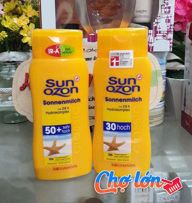 kem-chong-nang-sun-ozon-sonnenmilch