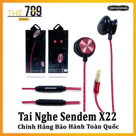 Tai nghe có dây sendem chính hãng TPE X22