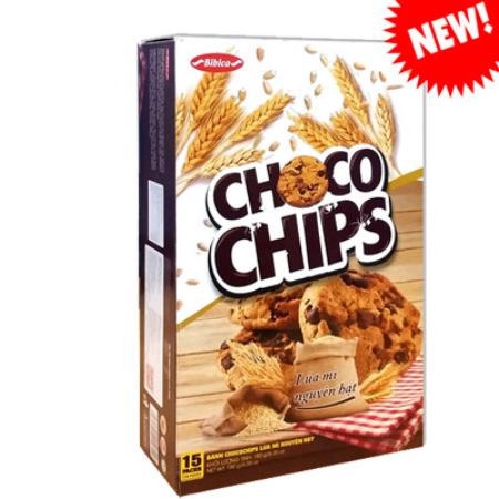 Bánh Chocochip lúa mì nguyên hạt hộp 180g (3.6 kg)
