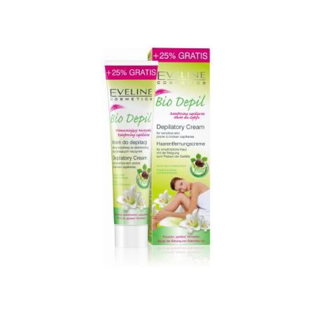 Kem tẩy lông hữu cơ dành cho da nhạy cảm BIO DEPIL  125ml