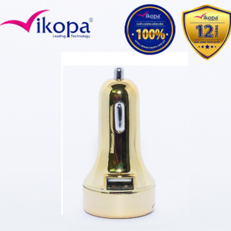 Củ sạc ô tô Vikopa Gold 3.1 A / TPVKP-CA28
