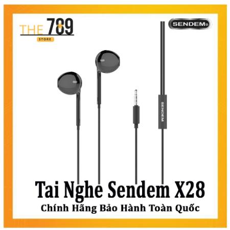 Tai nghe Dây nhựa Sendem TPE X28