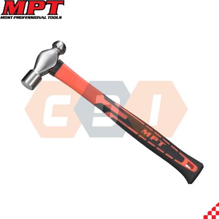 Búa tạ đầu đầu tròn cán sợi thủy tinh MPT- MHD05002-1LB