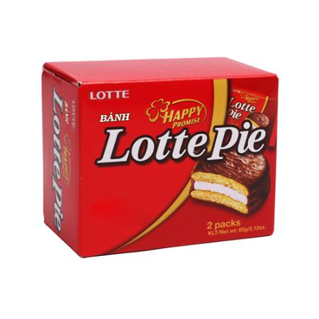 Bánh Lotte Pie HG 60g