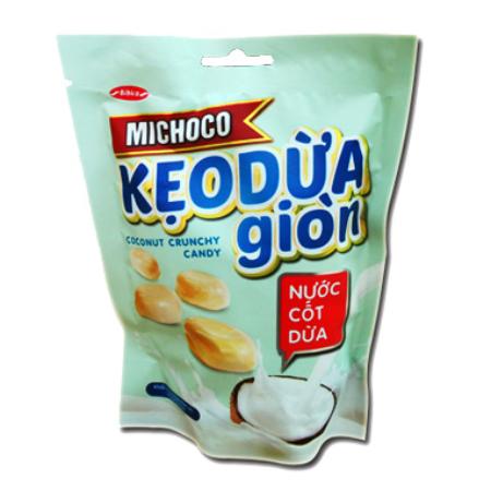 Kẹo dừa giòn nước cốt dừa Michoco túi 100g