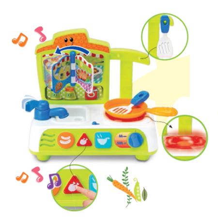 Bộ đồ chơi nấu ăn có nhạc 000755 hiệu Winfun