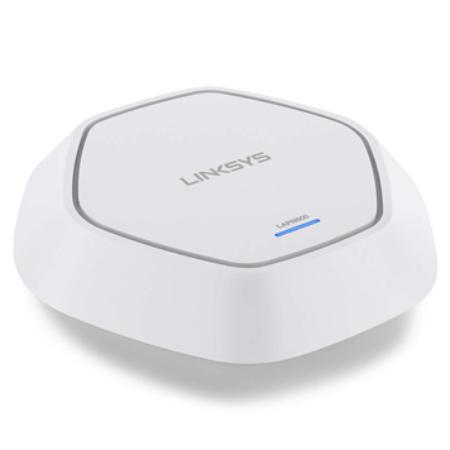 Linksys business Access point, Dual Band (2.4GHz + 5Ghz). Chuẩn WiFi N,  tốc độ 600Mbps